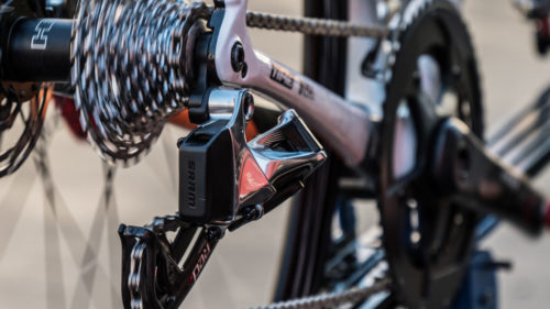 Rally UHC Cycling remained with long-time partner SRAM, but for 2019, they leave the cables behind as the team steps up to eTap.