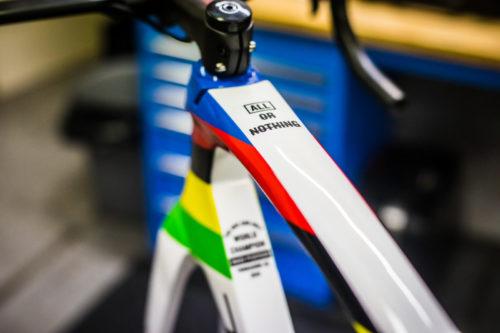 http://www.stickybottle.com/latest-news/mads-pedersen-world-champion-bike/